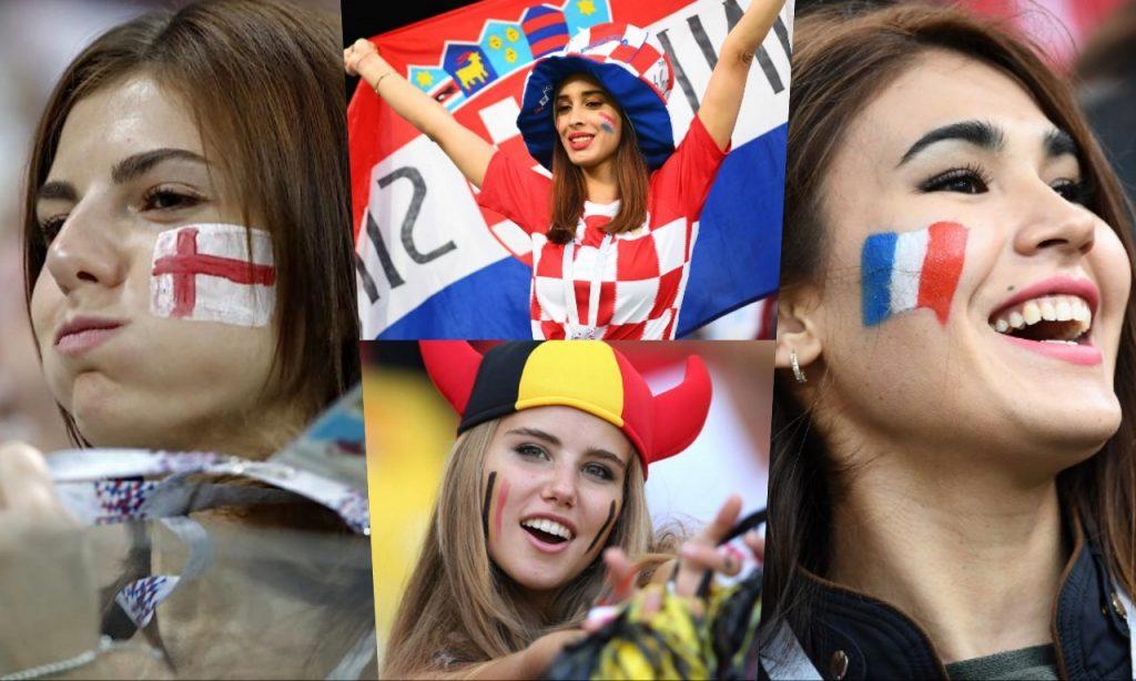 ส่องสาวสวยติดขอบสนามในศึก World Cup 2018