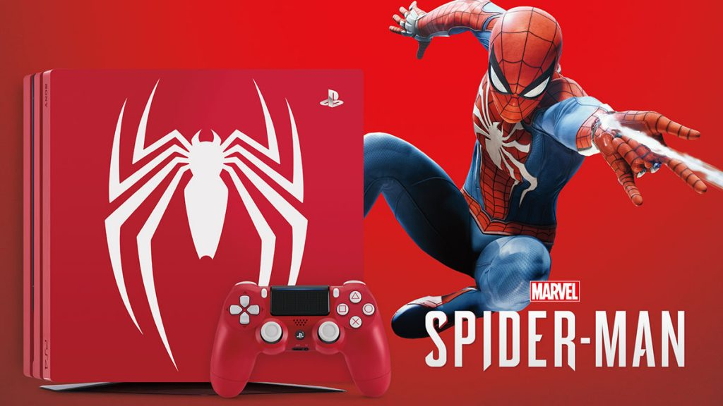 PlayStation®4 Pro Marvel's Spider-Man Limited Edition เตรียมวางจำหน่ายช่วงเดือนกันยายน ศกนี้