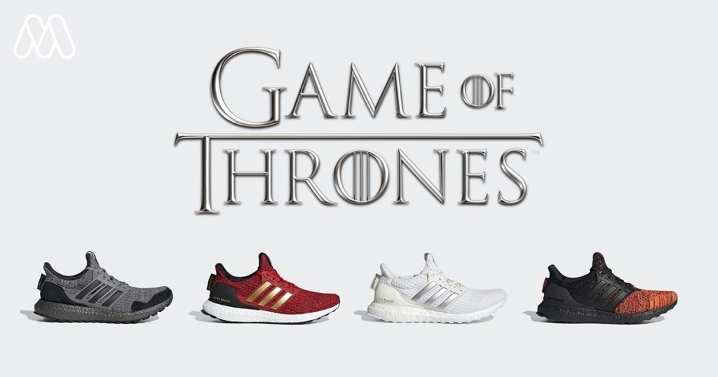 Adidas X Game of Thrones : Winter is coming to สายสนิกเกอร์