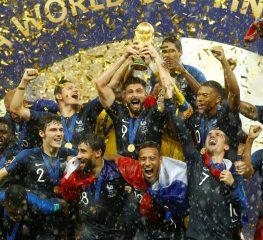ประมวลภาพความประทับใจ และการเฉลิมฉลองแชมป์ฟุตบอลโลก 2018 ของทีมชาติฝรั่งเศส