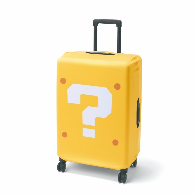 Suitcase คลุมกระเป๋าเดินทางลายบล๊อคปริศนา