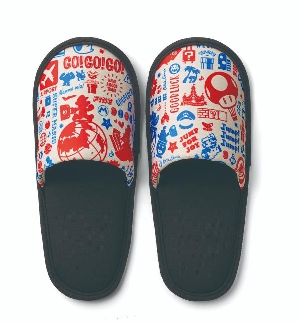 รองเท้าสลิปเปอร์ลาย Original Travel pattern