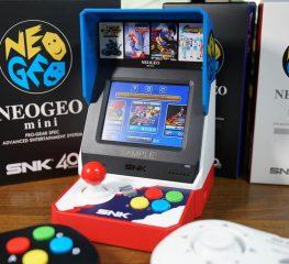 'NEOGEO mini' เครื่องเล่นเกมพกพาดีไซน์เกมตู้ Arcade ของ SNK