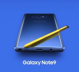 ใหญ่!ยาว! ก้าวอึดของ Galaxy Note 9