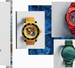 5 นาฬิกาแบรนด์ดังสุด Colorful ที่จะมาแต่งแต้มสีสันให้ข้อมือคุณ