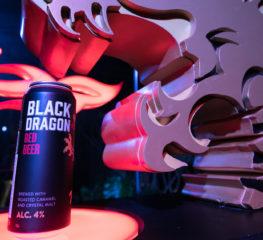 """เปิดประสบการณ์ใหม่ในทุกมิติของการดื่มเบียร์ด้วย BLACK DRAGON """"เบียร์สีแดง"""" ตัวแรก และตัวเดียวใน 7-11"""