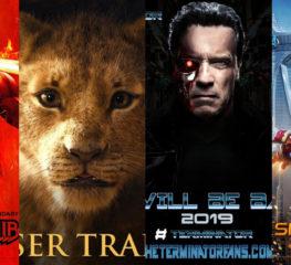 อัพเดตหนังใหม่ที่จ่อคิวรอเข้าฉาย ในปี 2019