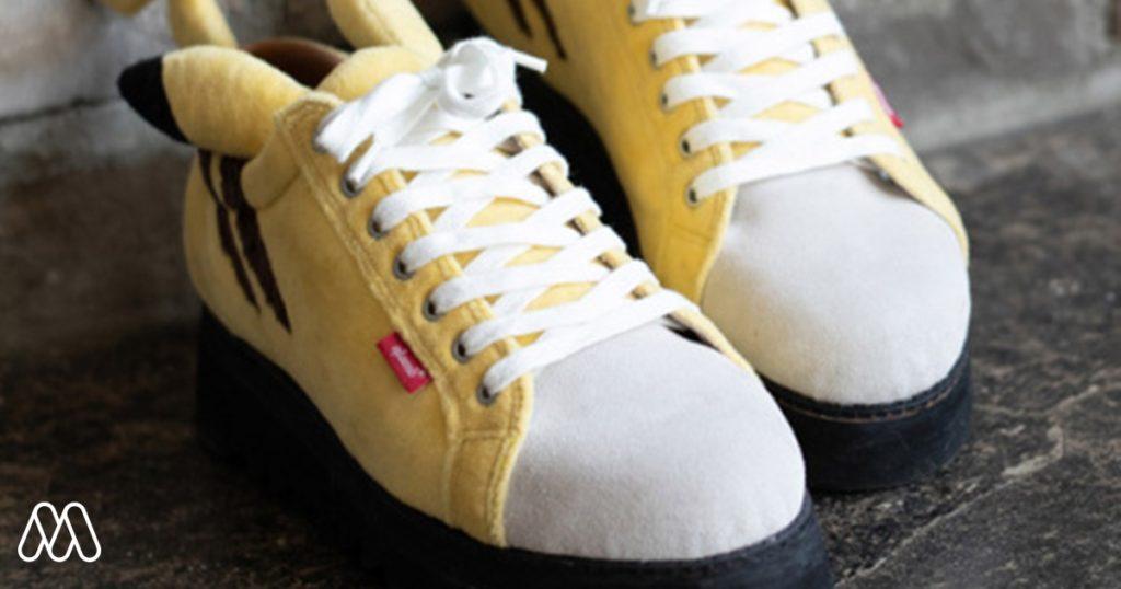 ปีก้าาา!! รองเท้า Sneaker สำหรับคนรักโปเกม่อน