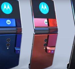 เผยภาพอีกชุดของมือถือพับได้ Motorola RAZR 2019