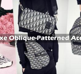 Kim Jones เปิดตัว Dior's Luxe Oblique-Patterned Accessories