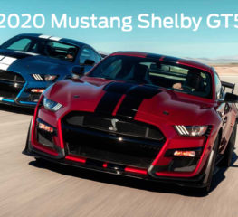 All-New 2020 Mustang Shelby GT500