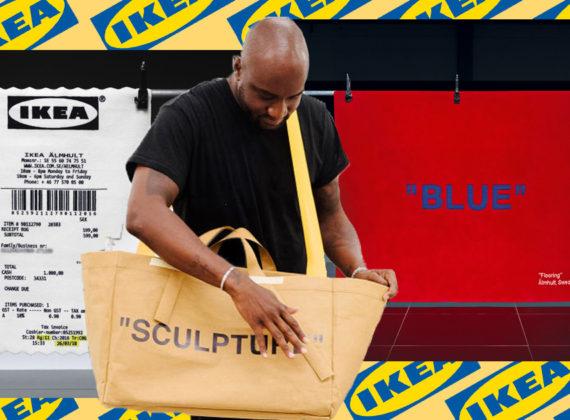 คอลเลกชันแต่งบ้านสุดแนวจากการโคจรมาเจอกันระหว่าง Virgil Abloh เจ้าพ่อสตรีทแฟชั่นกับ IKEA