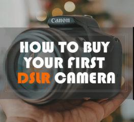 """เทคนิคการเลือกซื้อกล้อง """"DSLR"""" ตัวแรกของคุณ"""