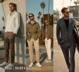 อัพเดทคอลเลคชั่นเสริมหล่อล่าสุด กับ Mango Man | SS19 Campaign
