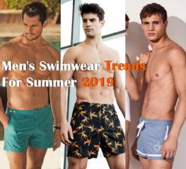 5 เทรนด์ชุดว่ายน้ำผู้ชายสำหรับฤดูร้อน 2019