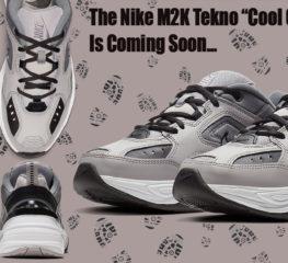 "Nike M2K Tekno ""Cool Grey"" กำลังจะมาเร็วๆ นี้"