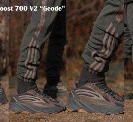 'Geode' Adidas Yeezy Boost 700 V2 ที่พร้อมจำหน่าย รับซัมเมอร์ 2019 นี้