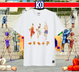 Uniqlo เอาใจเหล่าเกมเมอร์ยุค 90s ด้วยเสื้อยืดกราฟฟิคสุดเท่จาก Street Fighter และ Monster Hunter