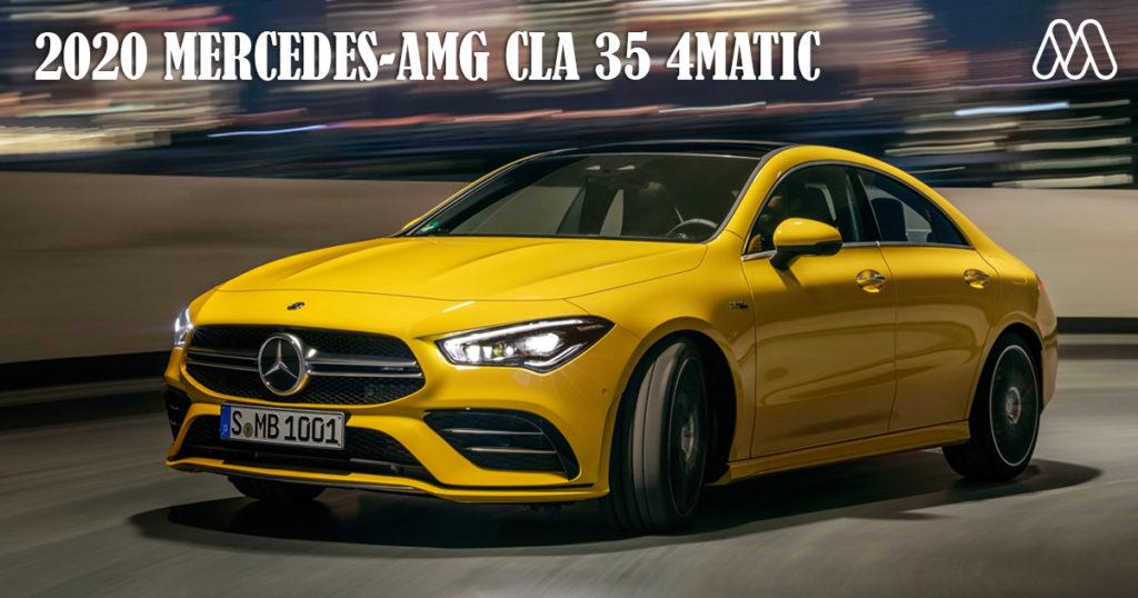 2020 MERCEDES-AMG CLA 35 4MATIC