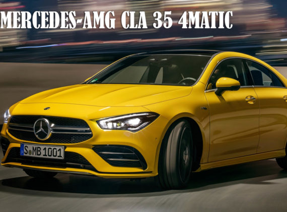 2020 MERCEDES-AMG CLA 35 4MATIC