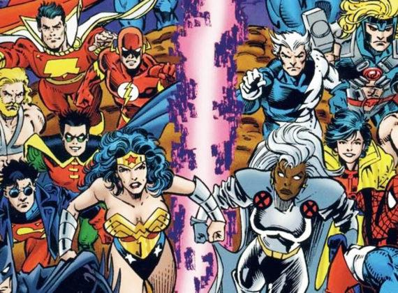 เมื่อสองค่ายคู่แข่ง Marvel กับ DC เคยโคจรมาเจอกันบนโลกคอมมิกส์ ความอลหม่านจึงบังเกิด