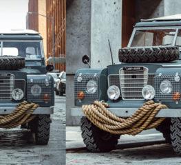 นี่คือการคืนชีพ 1972 Land Rover Series III
