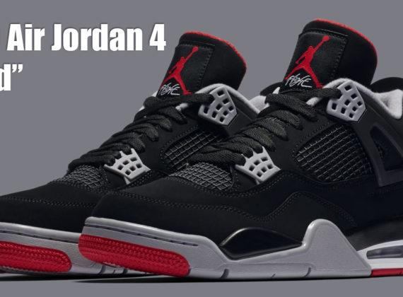 "The Air Jordan 4 ""Bred"" ย้อนกลับไปในความรุ่งโรจน์ของ OG ทั้งหมด"