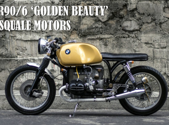 BMW R90/6 'GOLDEN BEAUTY' BY PASQUALE MOTORS