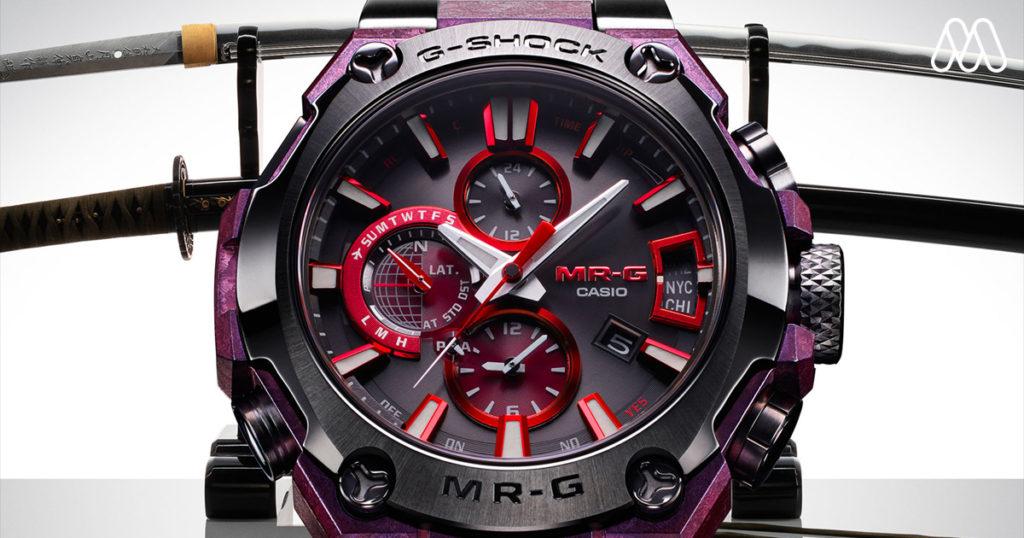 นาฬิกา G-Shock MR-G ระดับไฮเอนด์เครื่องนี้จะปลุกสัญชาตญาณซามูไรในตัวคุณ