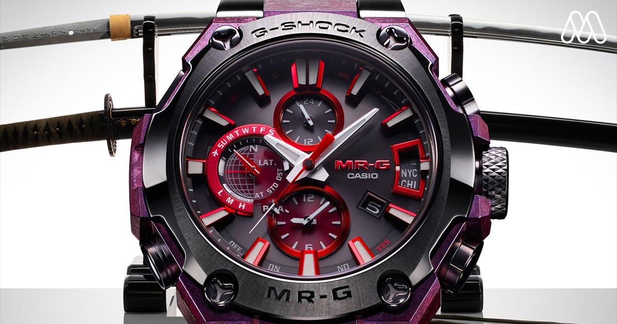 นาฬิกา G-Shock MR-G Gassan ระดับไฮเอนด์เครื่องนี้จะปลุก