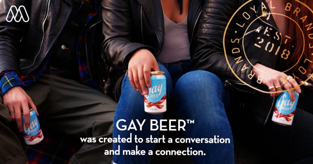 """""""Gay Beer"""" เครื่องดื่มแนวคิดใหม่ ที่เปิดกว้างและท้าทายนักดื่มในทุกเพศ"""
