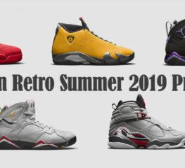 Preview | ส่องภาพตัวอย่าง Jordan Retro Summer 2019