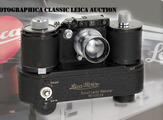 การประมูล Leitz Photographica Classic Leica
