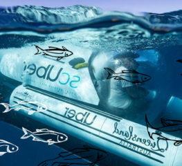 เรียก scUber ปักหมุดลงทะเล : บริการรับส่งชมโลกใต้ทะเลลึกในออสเตรเลียจาก Uber