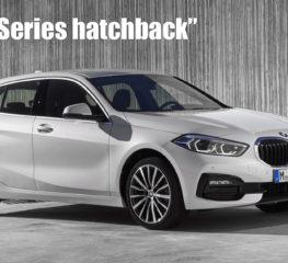 BMW เผยโฉม 2019 1-Series ที่ออกแบบใหม่