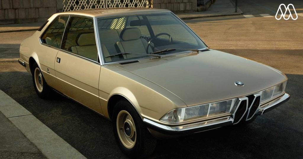 BMW ได้เปิดตัว BMW Garmisch รถแนวคิดคลาสสิคที่ถูกออกแบบโดย Marcello Gandini