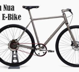 E-Bike Titanium Nua Electrica มีมอเตอร์ที่ชาร์จไฟในตัว