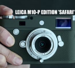 CAMERA | กล้อง LEICA M10-P EDITION 'SAFARI'