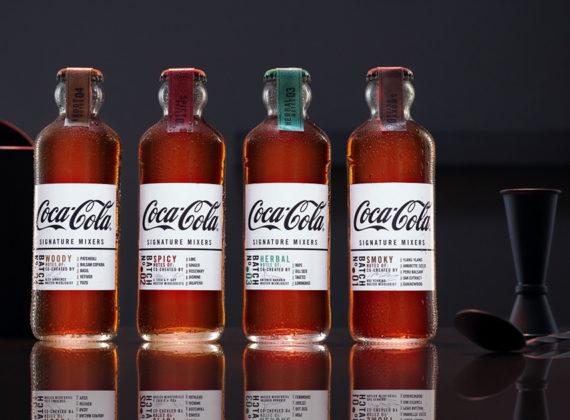 Coca-Cola Signature Mixers ที่สร้างขึ้นใหม่ และออกแบบมาเพื่อการผสมโดยเฉพาะ