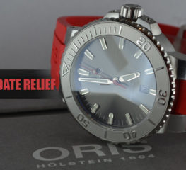 Oris x Swiss Swimming Legend สร้างนาฬิกาดำน้ำที่สมบูรณ์แบบ