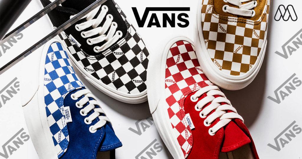 Vans Vault ตกแต่ง OG Authentic LX ในรูปลักษณ์หมากรุก และผ้าใบผืนใหม่สำหรับ Summer 2019