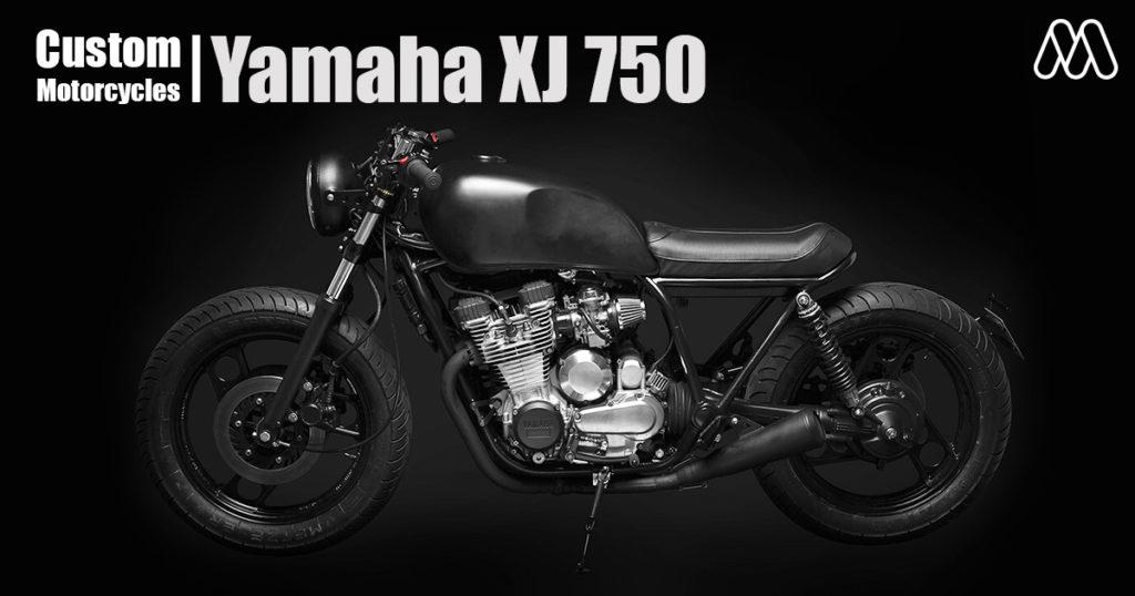 Custom Motorcycles | Yamaha XJ 750 คันนี้มีหัวใจที่ดำดึก