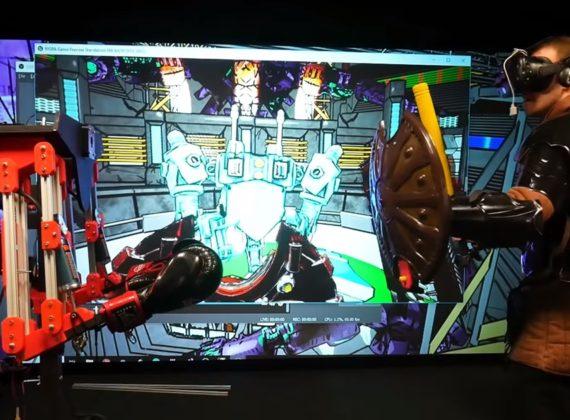 มิติใหม่ของการเล่น VR ที่หากเจ็บในเกมโลกจริงก็เจ็บด้วย