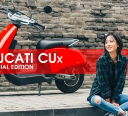 เปิดตัว Ducati CUx รุ่นพิเศษ
