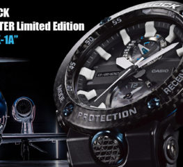 Casio G-SHOCK GRAVITYMASTER Limited Edition ออกแบบมาสำหรับนักบิน