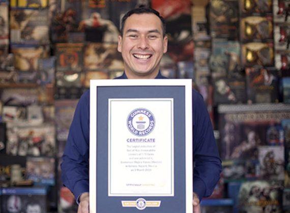 แฟนพันธุ์แท้ God of War รับรางวัลจาก Guinness World Record