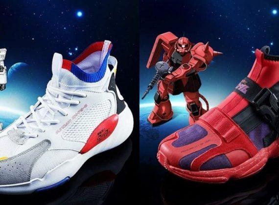 อย่างเท่! รองเท้า Gundam วางจำหน่ายแล้ววันนี้