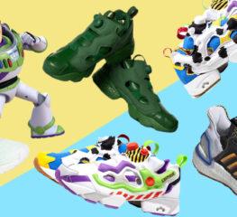 Toy Story 4 กับสองสนีกเกอร์ลุคเท่ปนซนจาก Reebok และ Adidas