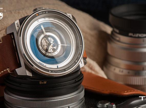 นาฬิกา TACS AVL II จับสไตล์ของกล้องโบราณ รวบรวมจิตวิญญาณแห่งการถ่ายภาพ