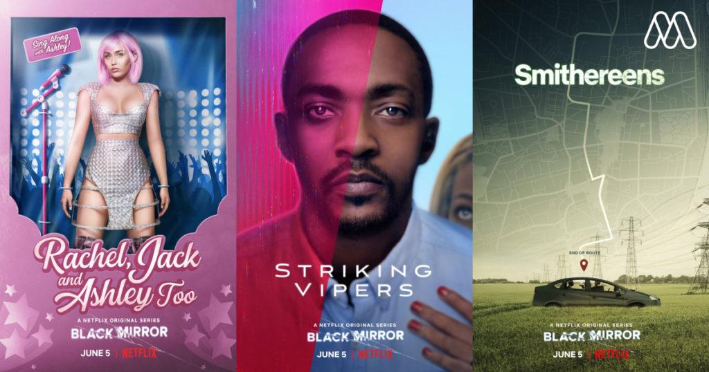 News Series   การกลับมาของซีรีย์ 'Black Mirror' Season 5 ดำดิ่งลงสู่ 3 นิทานแห่งโลก Techno-Paranoia